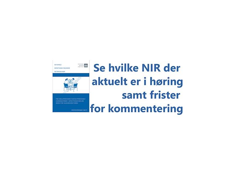 Aktuelt - NIR i høring